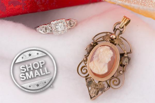 Save on vintage jewelry this Small Business Saturday