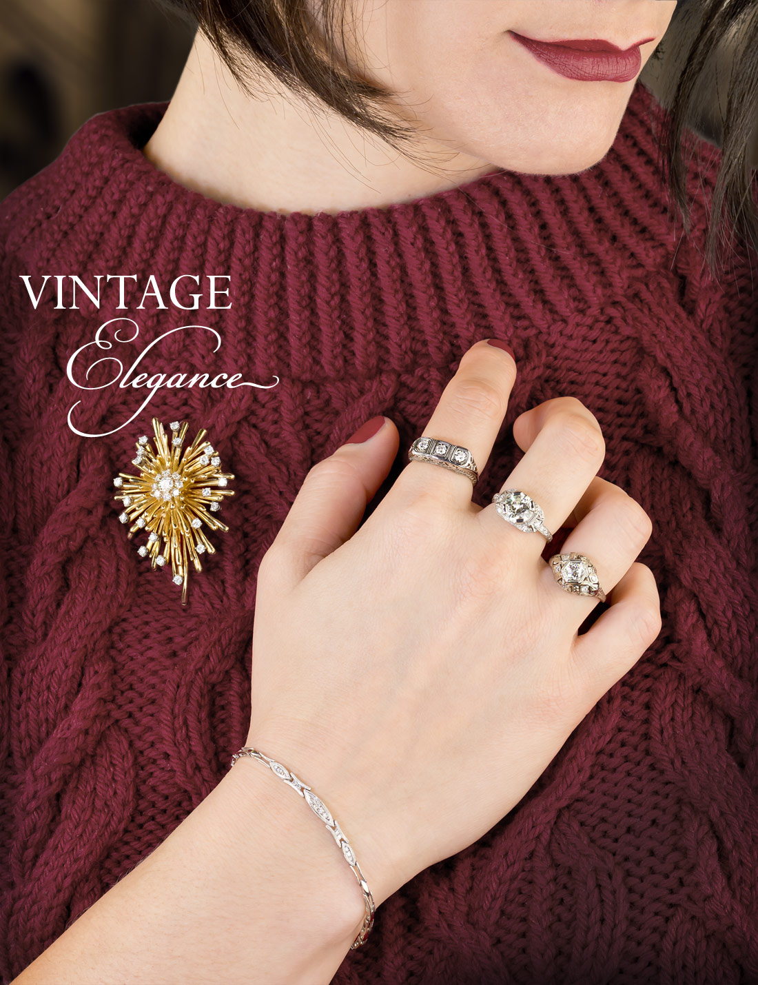 Vintage jewelry Christmas gifts
