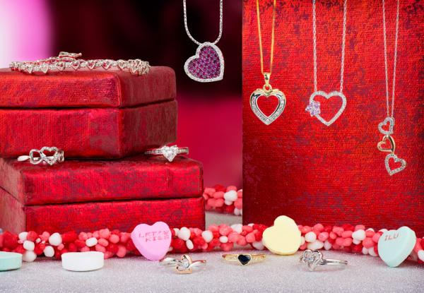 Valentines Day heart jewelry ideas