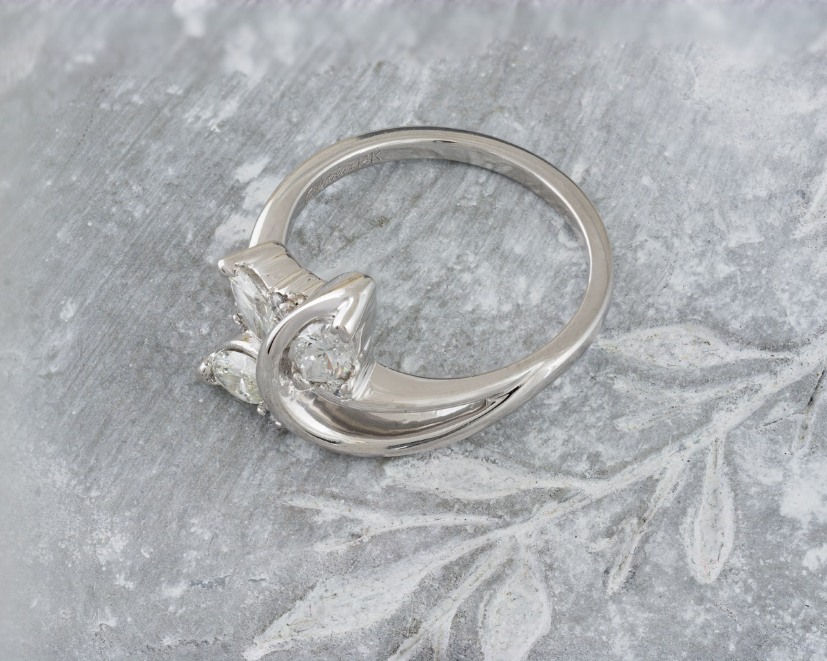 b04647797b897 Ring stamped with an arrow through a U : Search Results : Arden Jewelers