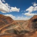 The Argyle diamond mine in Australia